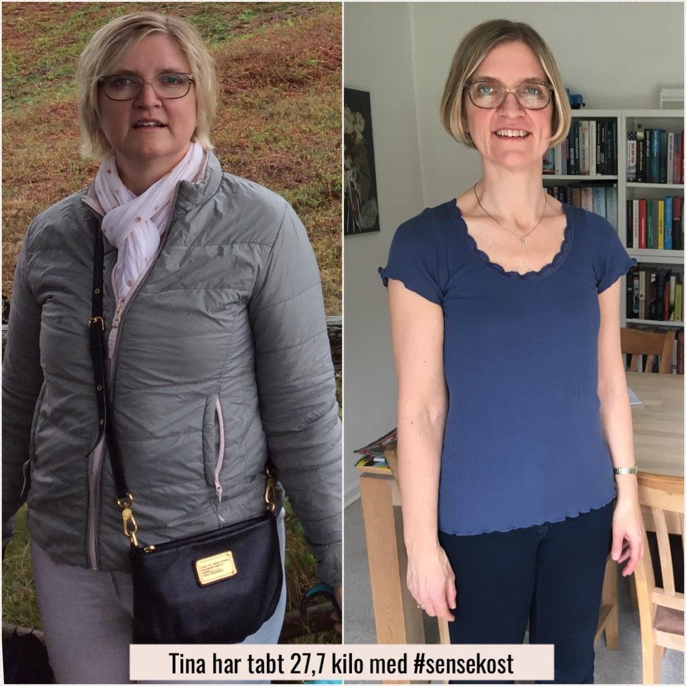 tab 10 kilo på 2 måneder